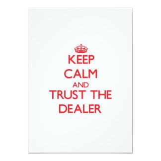 Guarde la calma y confíe en al distribuidor anuncio
