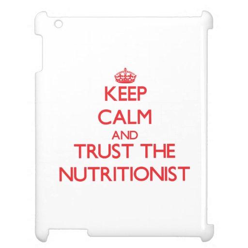 Guarde la calma y confíe en al nutricionista