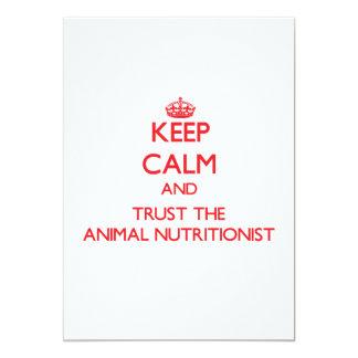 Guarde la calma y confíe en al nutricionista anuncio