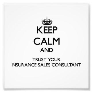 Guarde la calma y confíe en sus ventas Consultan d Arte Fotográfico