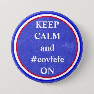 Guarde la calma y el #covfefe EN el botón del pío