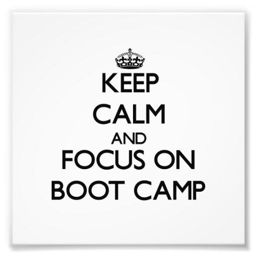 Guarde la calma y el foco en Boot Camp Fotografia