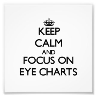 Guarde la calma y el foco en CARTAS de OJO