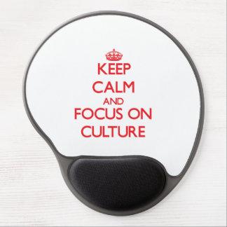 Guarde la calma y el foco en cultura