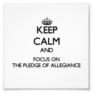Guarde la calma y el foco en el compromiso de la l