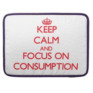 Guarde la calma y el foco en el consumo