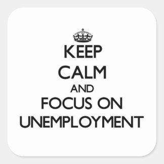 Guarde la calma y el foco en el desempleo