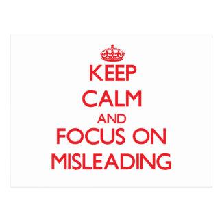 Guarde la calma y el foco en el engaño postal
