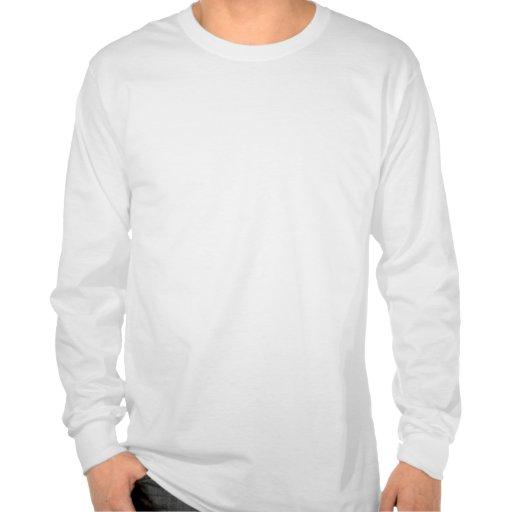 Guarde la calma y el foco en Garnish Camiseta
