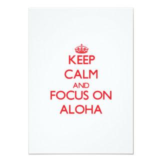 Guarde la calma y el foco en HAWAIANA Comunicado Personal