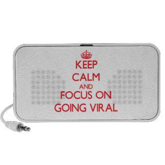 Guarde la calma y el foco en ir viral