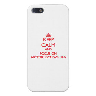 Guarde la calma y el foco en la gimnasia artística iPhone 5 cobertura