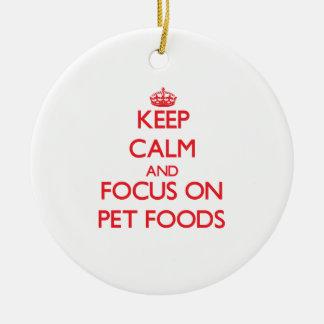 Guarde la calma y el foco en las comidas de mascot