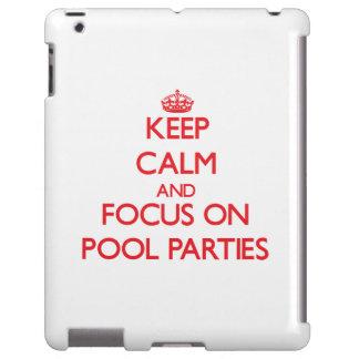 Guarde la calma y el foco en las fiestas en la pis