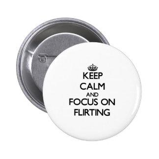 Guarde la calma y el foco en ligar