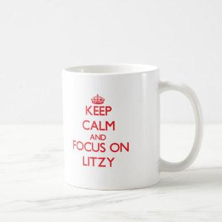 Guarde la calma y el foco en Litzy