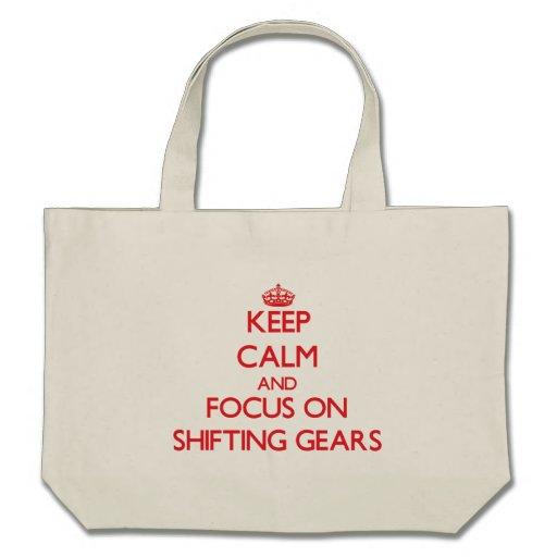 Guarde la calma y el foco en los engranajes de bolsas
