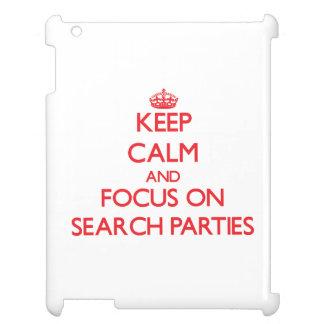Guarde la calma y el foco en los fiestas de