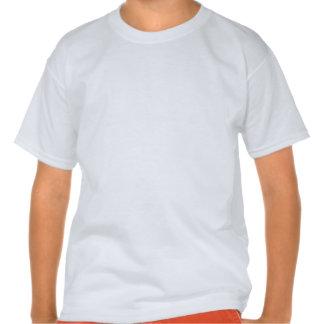 Guarde la calma y el foco en los mantones camisetas