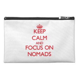 Guarde la calma y el foco en nómadas