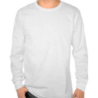 Guarde la calma y el foco en voltios camisetas