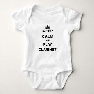GUARDE la CALMA Y el JUEGO CLARINET.png Body Para Bebé