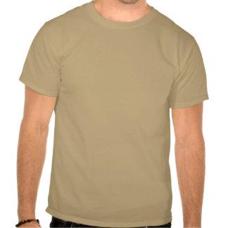 Guarde la calma y el Saunter en la camiseta de Tho