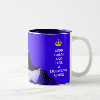 guarde la calma y emplee una taza de la guía de la