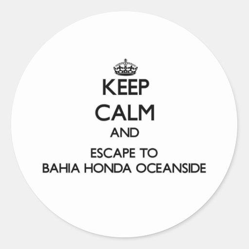Guarde la calma y escápese a la costa Flor de Etiqueta