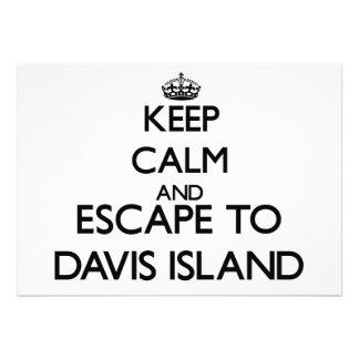 Guarde la calma y escápese a la isla la Florida de Anuncio