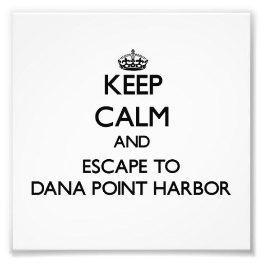 Guarde la calma y escápese al puerto Californ de Arte Fotografico