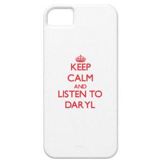 Guarde la calma y escuche Daryl iPhone 5 Case-Mate Protector