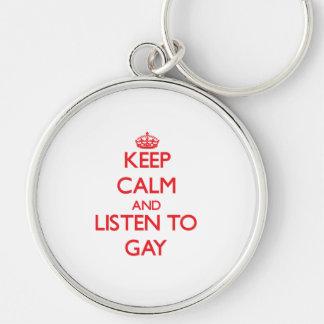 Guarde la calma y escuche el gay