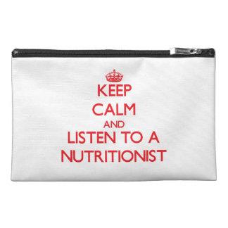 Guarde la calma y escuche un nutricionista