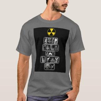 """""""Guarde la calma y la radiografía en"""" la camiseta"""