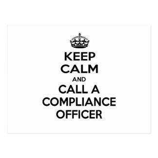 Guarde la calma y llame a un oficial de la postal