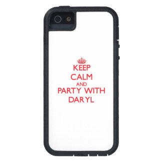 Guarde la calma y vaya de fiesta con Daryl iPhone 5 Case-Mate Cárcasa