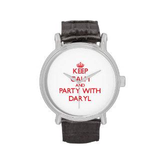 Guarde la calma y vaya de fiesta con Daryl Reloj