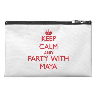 Guarde la calma y vaya de fiesta con el maya