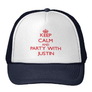 Guarde la calma y vaya de fiesta con Justin Gorros