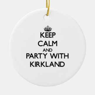 Guarde la calma y vaya de fiesta con Kirkland