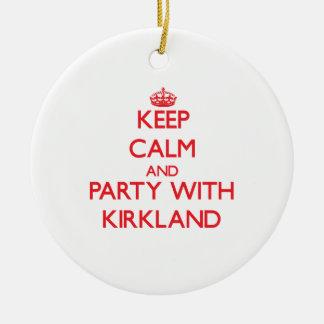 Guarde la calma y vaya de fiesta con Kirkland Ornamentos De Reyes Magos