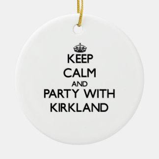 Guarde la calma y vaya de fiesta con Kirkland Ornamento De Reyes Magos