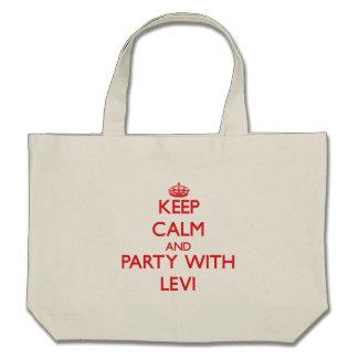 Guarde la calma y vaya de fiesta con Levi Bolsas