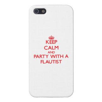 Guarde la calma y vaya de fiesta con un flautista iPhone 5 protectores