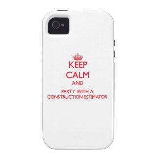 Guarde la calma y vaya de fiesta con un perito de  iPhone 4 carcasas