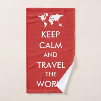 Guarde la calma y viaje el mundo