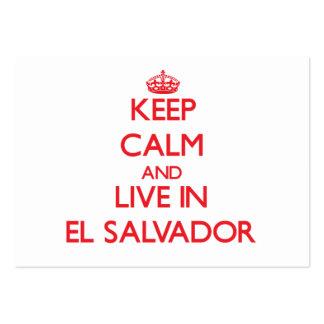 Guarde la calma y viva en El Salvador