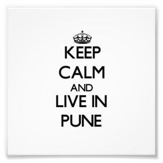 Guarde la calma y viva en Pune