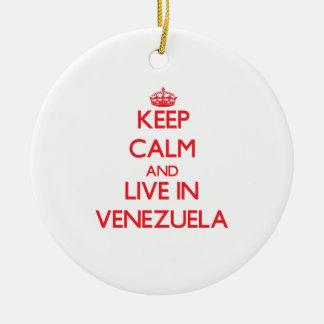 Guarde la calma y viva en Venezuela